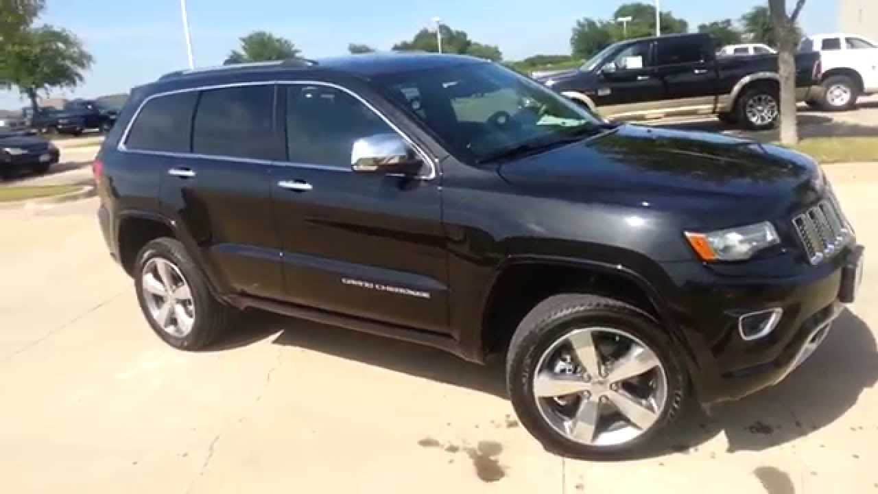 5000 Off New 2014 4wd Grand Cherokee Overland Edition Black On 2013 Summit Youtube