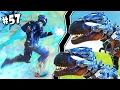 LA SUPER ARMADURA TEK Y LOS T-REX ROBOTICOS | ARK #57