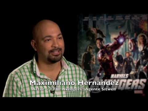 Entrevista con Maximiliano Hernández el Agente Sitwell de Los Vengadores