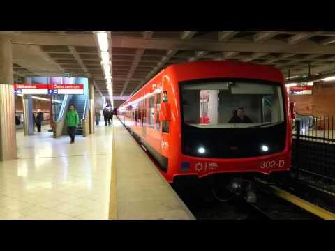Uusi M300-metrojuna/ The new M300-serie metrotrain/ Helsinki