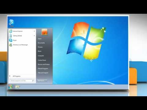 Reset Skype® settings to fix performance issues in Windows® 7