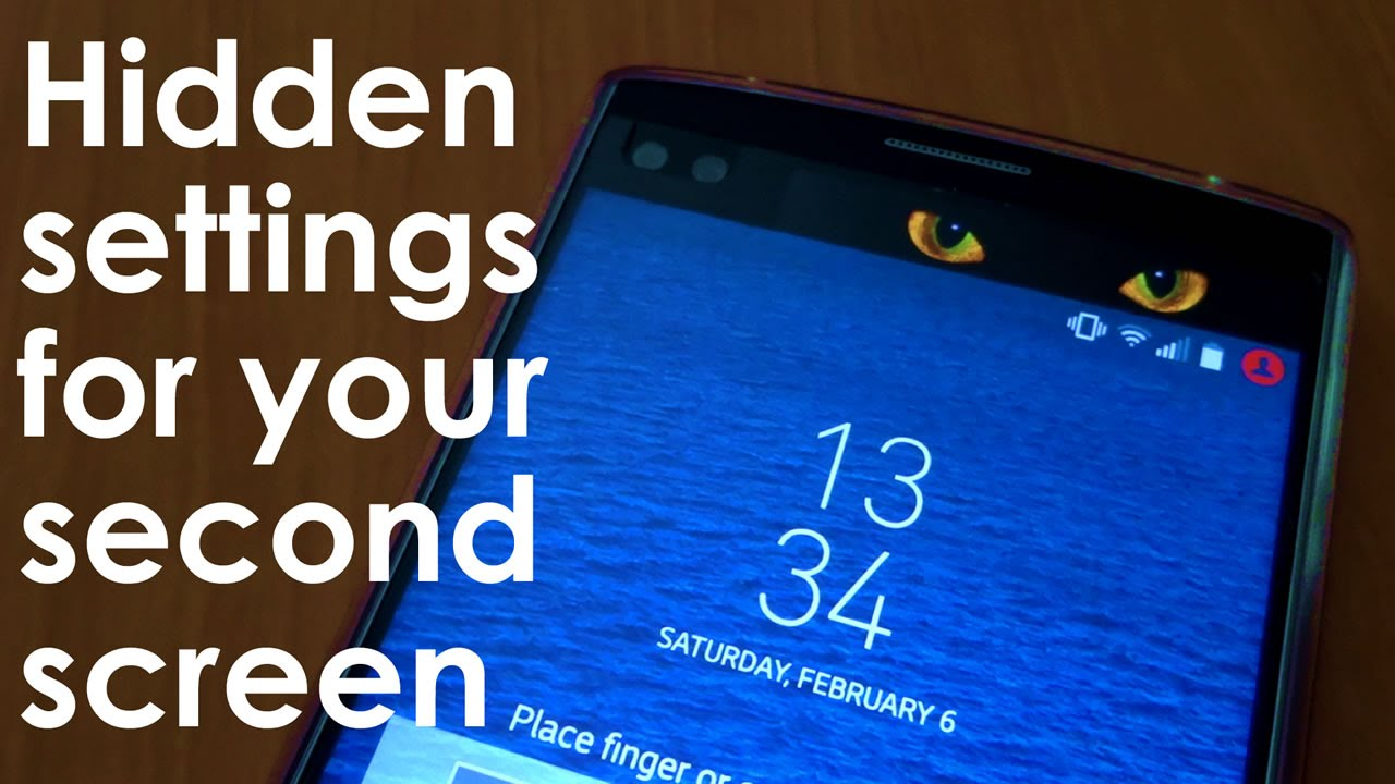 How to Easily Unlock a Hidden Settings Menu for your LG V10