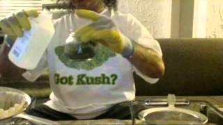 hash oil moondust making the bong rip method ala bongtvlive com part 1 hd