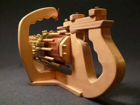 Up Close and Personal --- RotaryMek-12X Rubber Band ...