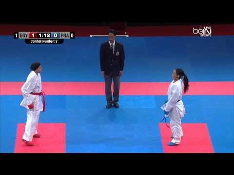 Finale Championnat du Monde karate (Egypt Vs France)