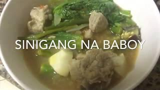 Pork Sinigang (Sinigang na Baboy) #28