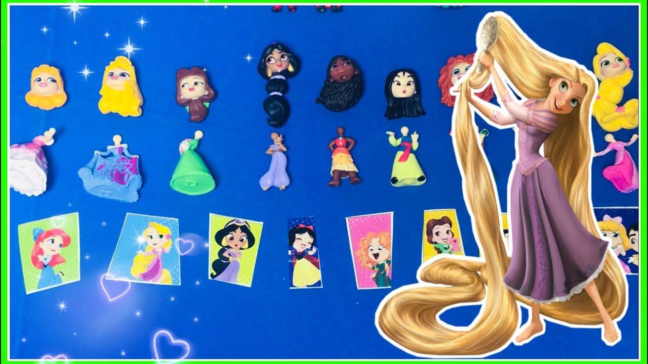 Disney Prensesleri Kim Kimin Kıyafetini Giyecek Kartlardan Ne Çıkarsa Bebek Oluşturma Oyunu