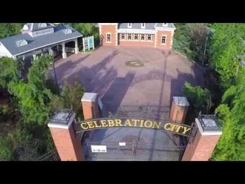 Abandoned Celebration City Theme Park - Branson, MO - Filmed by DJI Phantom 2 Drone