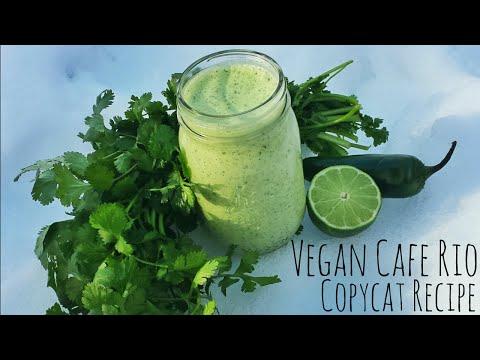 Vegan Cafe Rio Tomatillo Ranch Copy Cat Recipe!