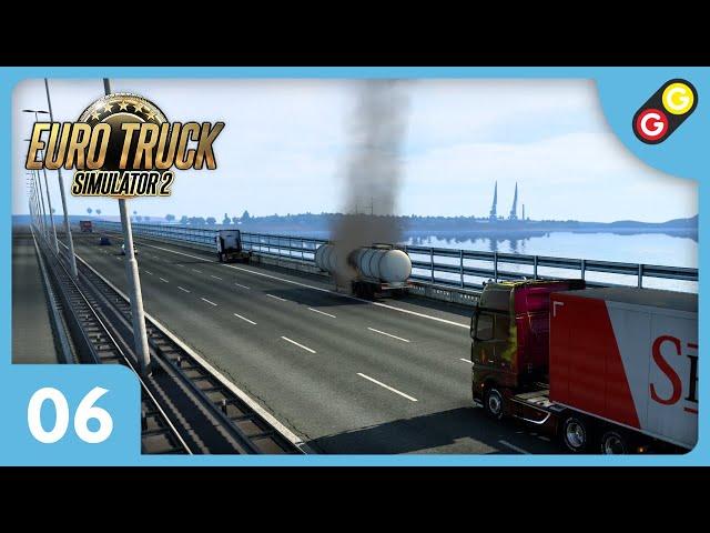 Euro Truck Simulator 2 #06 On débarque aux Pays-Bas ! [FR]