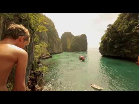 Phi Phi Island cliff jumping