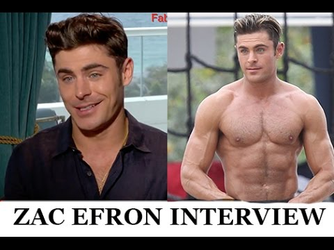Zac Efron Explains His Workout & Diet in Funny Interview ...