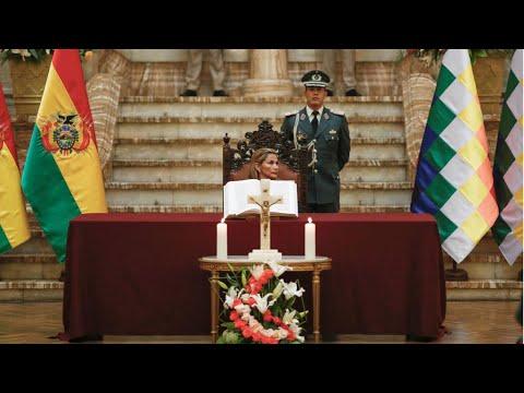 بوليفيا: أنصار إيفو موراليس يتظاهرون ضد الرئيسة الانتقالية جانين آنيز  - 10:59-2019 / 11 / 15