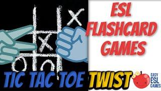Tic Tac Twist (Updated Version) | Easy ESL Games