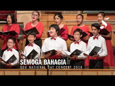 ZUBIR SAID Semoga Bahagia arr  PHOON YEW TIEN for choir & orchestra