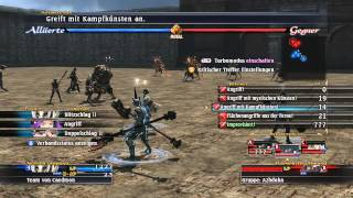 The Last Remnant gameplay | Arenakampf | So läuft das Kampfsystem (deutsch kommentiert) part 1 HD