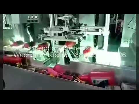 HDPE , LDPE , PP, PET Bottles Full Auto Screen Printing ...