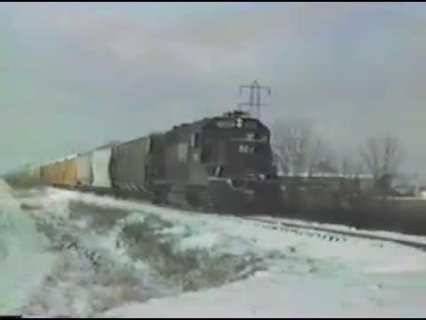 N&W's Defiance-Napoleon, OH local—ca. 1988