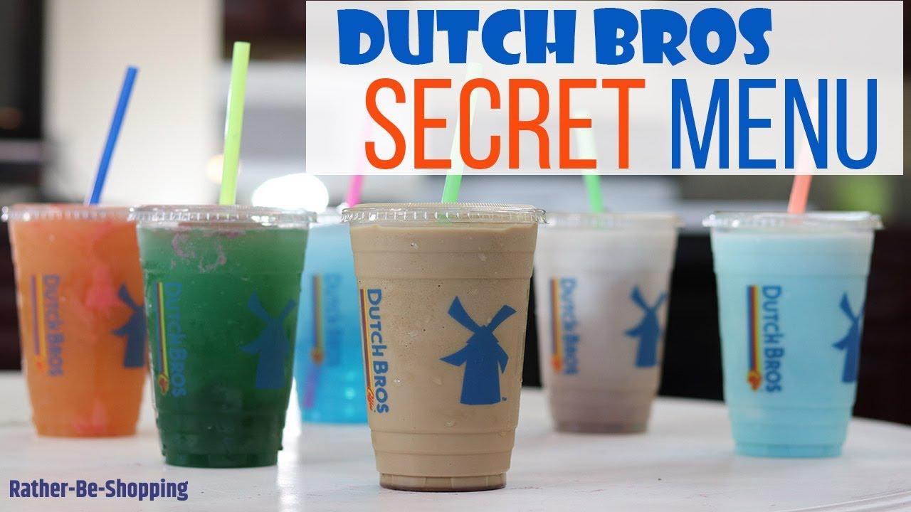 Dutch Bros Secret Menu: We Taste Them For Ya! - YouTube
