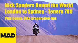 Yamaha Tenere 700 - Nick Sanders - London to Sydney (Americas)