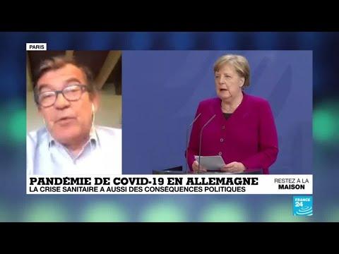 En Allemagne, la crise sanitaire du coronavirus a aussi des conséquences politiques