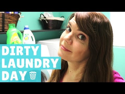 MY LAUNDRY CLEANING ROUTINE // CLEANING MOTIVATION // STAY AT HOME MOM