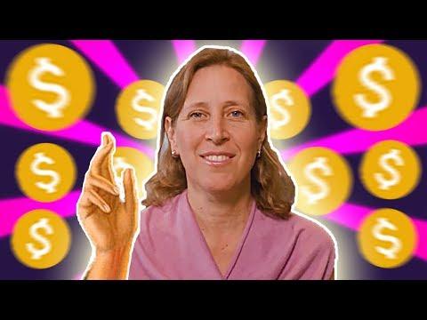 YouTube CEO Susan Wojcicki Starts A Channel (it's bad)