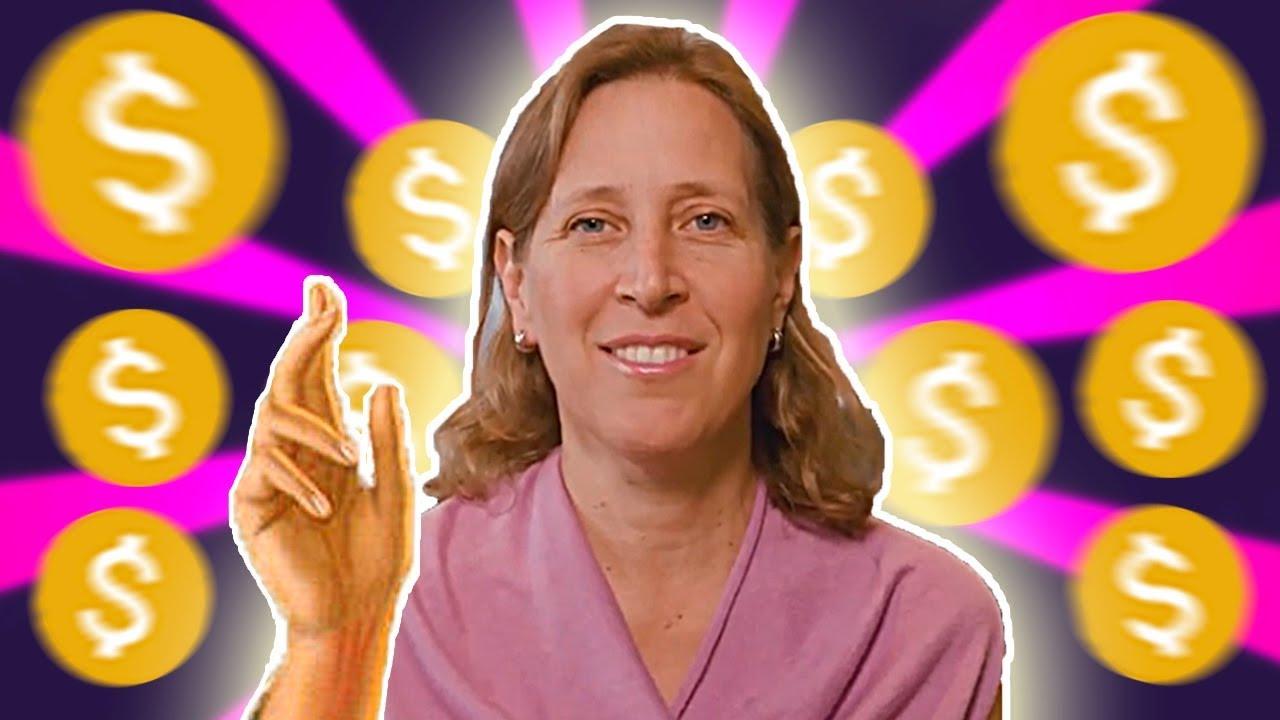 Youtube: YouTube CEO Susan Wojcicki Starts A Channel (it's Bad