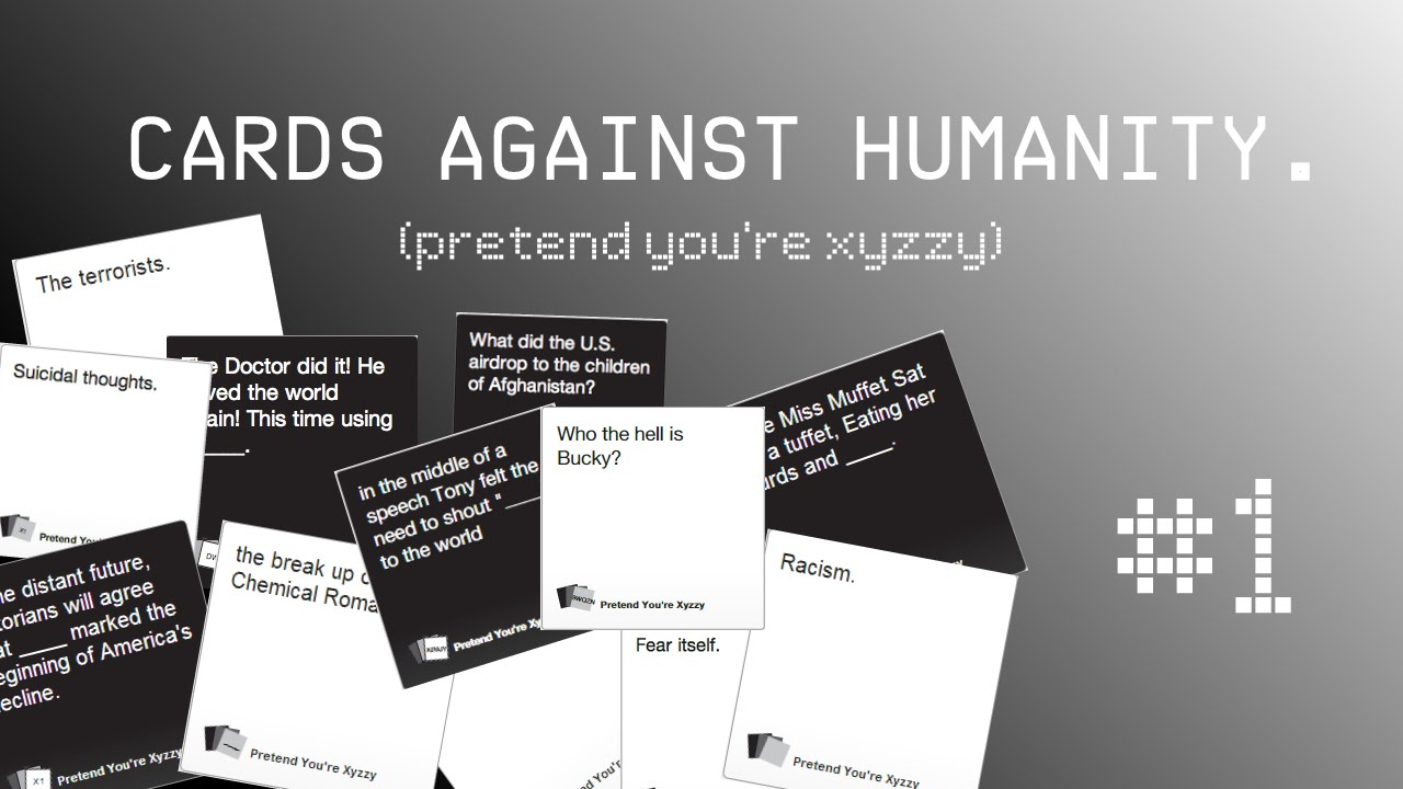 cards against humanity xyzzy unblocked