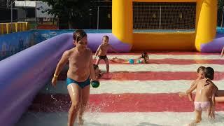 водный футбол Summer Park часть 3