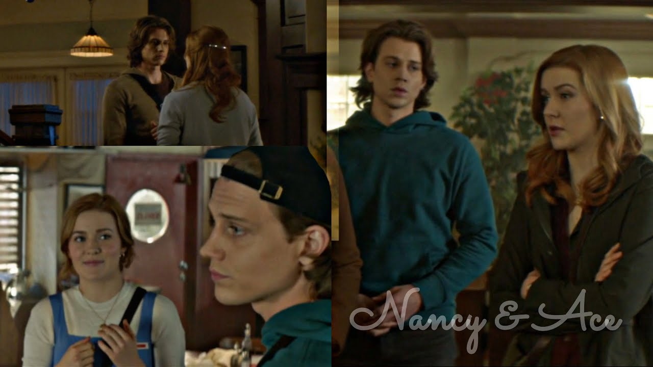 Download Nancy & Ace looking at each other (pt. 1)