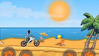 MOTO X3M 3 - Bike Racing Games - Motocross Racing - Level 61 - 75 Gameplay Android / iOS