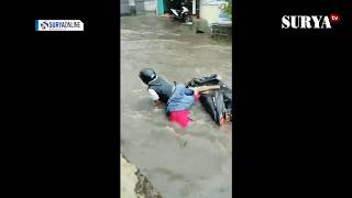 Download Video PENGENDARA JATUH AKIBAT BANJIR SIMPANG BOROBUDUR MALANG MP3 3GP MP4