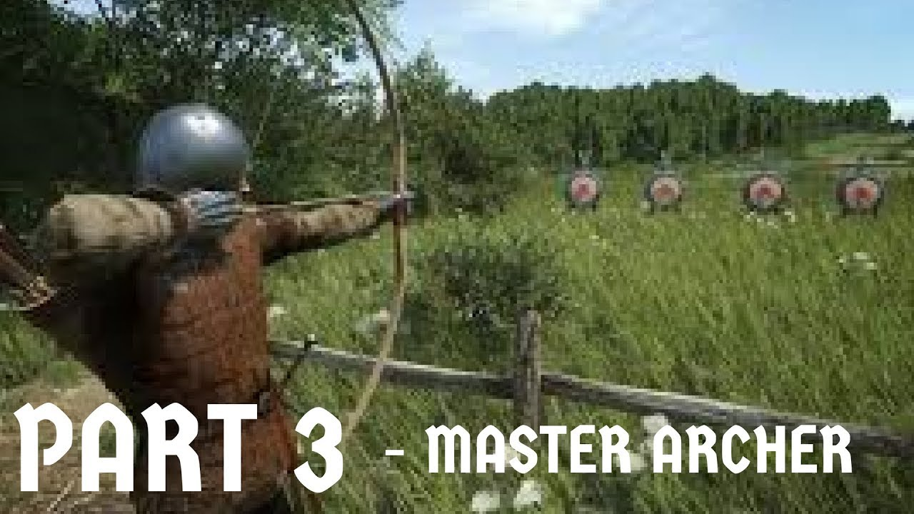 Kingdom Come: Deliverance - MASTER ARCHER (WARNING GORE!)