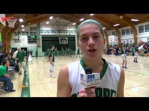 Sunapee Girls Basketball Hosts Colebrook Academy