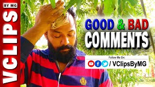 Good & Bad Comments   Q&A   17   VClips By MG