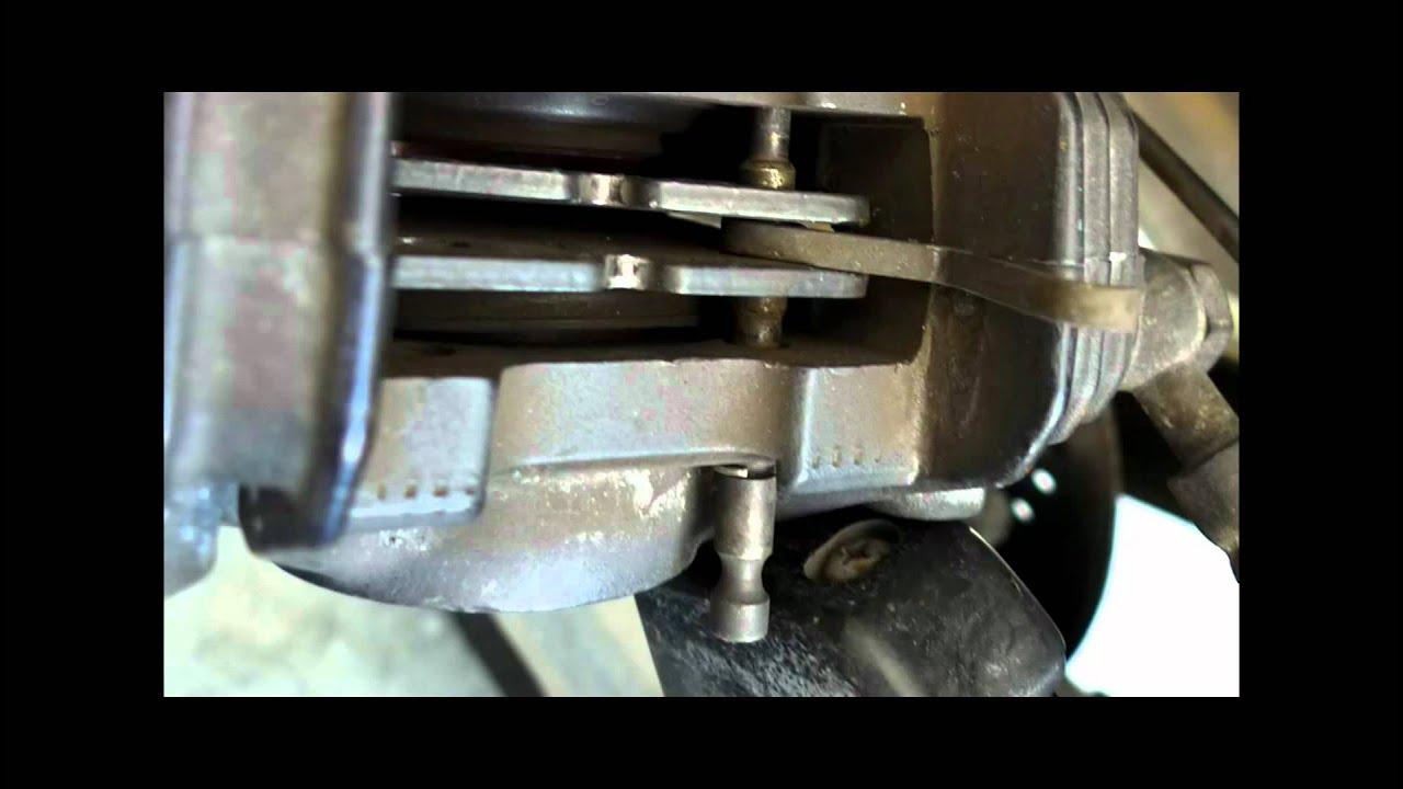 brake pads bmw motorcycle replacing - youtube