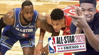 BEST ALL STAR GAME EVER!! 2020 NBA All-Star Game - Team LeBron vs Team Giannis