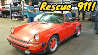 homepage tile video photo for Starting this Porsche 911 for the first time in 20 YEARS was a TOTAL DISASTER