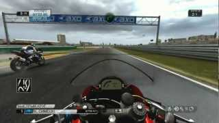 SBK X Superbike gameplay
