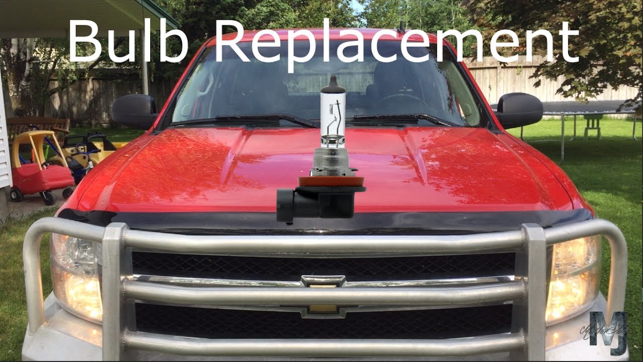 How To Change Headlight Bulb >> 2011 Silverado: How to change a headlight bulb - YouTube