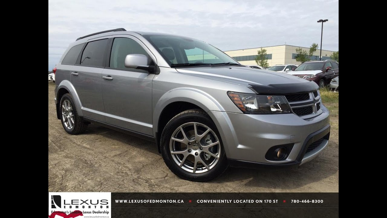 pre owned silver 2015 dodge journey awd r t in depth review grande prairie alberta youtube. Black Bedroom Furniture Sets. Home Design Ideas