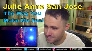 Julie Anne San Jose - The Way You Make Me Feel (Michael Jackson) | REACTION