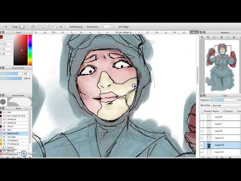 Doctor Poison Speed Paint