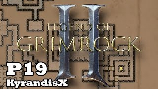 Legend of Grimrock 2 - HARD - P19: I cheated, Scroll of Dispel and Air Essence