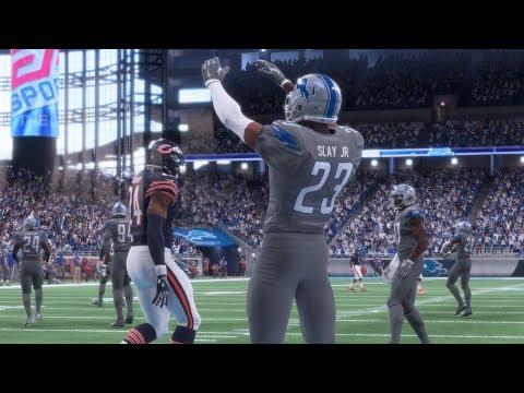 Chicago Bears vs Detroit Lions | NFL Saturday Football | Full NFL Game Bears vs Lions (Madden 18)