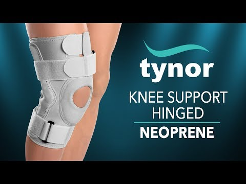 Tynor Knee Support Hinged (Neoprene) for knee stability and recovery