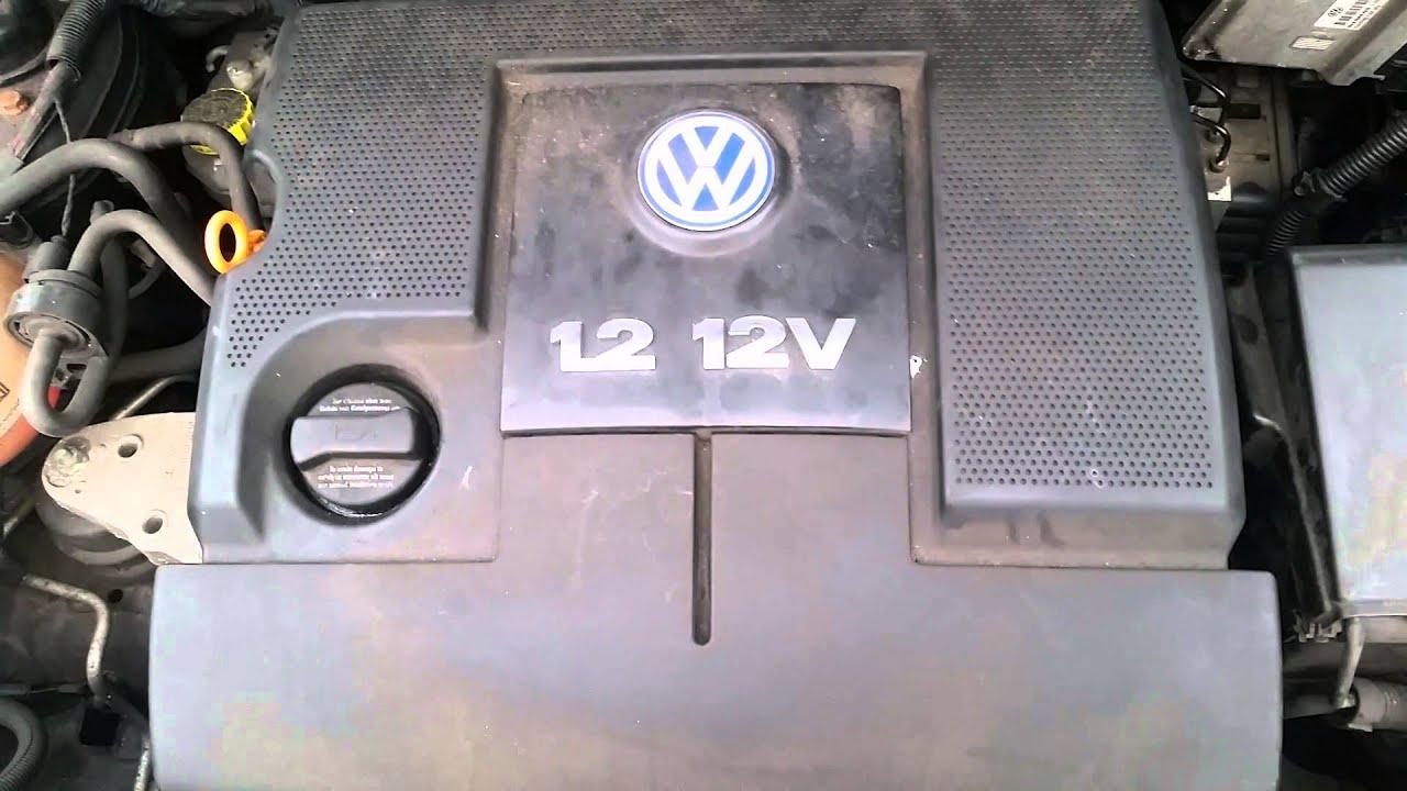 pf52ofr volkswagen polo 2002 9n 1 2 12v engine azq youtube. Black Bedroom Furniture Sets. Home Design Ideas