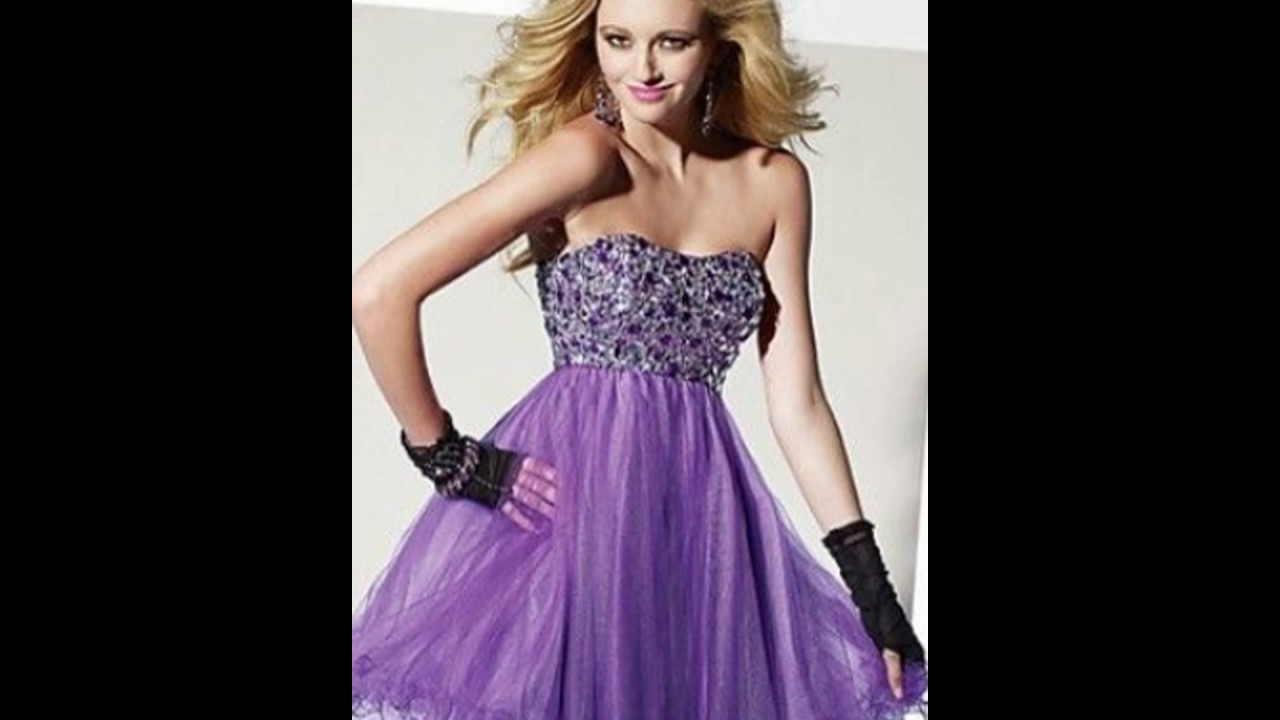 39b915603 Vestidos color Lila - YouTube