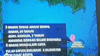 Gempa terjadi lagi di madura pulau sapudi